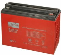 Zenith 12 volt 135Ah AGM - Deep Cycle Accu
